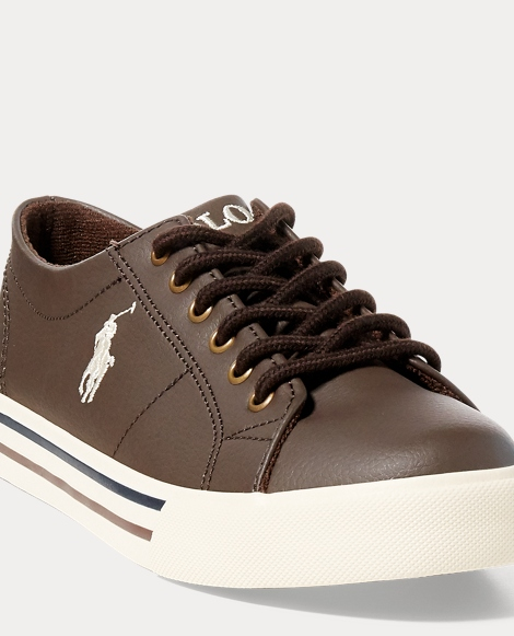 Scholar Faux-Leather Sneaker