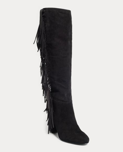 Vanida Suede Knee-High Boot
