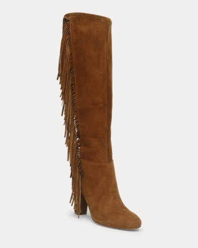 Vanida Suede Knee-High Boot