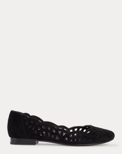 Caley Suede Flat