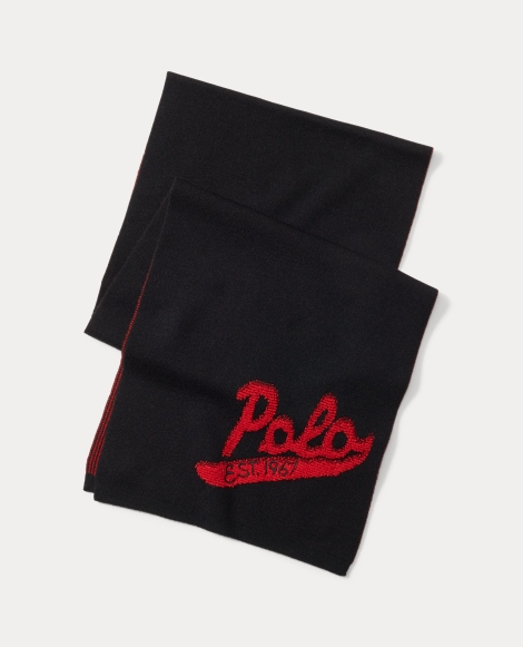 Polo Wool Scarf