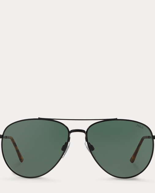 produt-image-0.0. produt-image-1.0. Men Accessories Sunglasses & Eyewear  Engraved Aviator Sunglasses. Polo Ralph Lauren