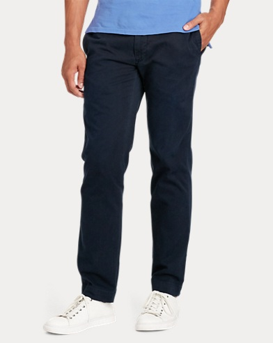 Straight Fit Cotton Chino