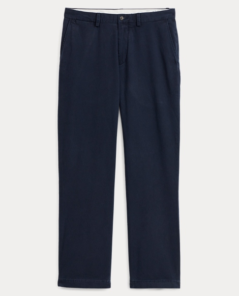 Relaxed Fit Cotton Chino Pant
