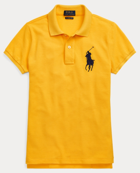 Skinny-Fit Big Pony Polo Shirt