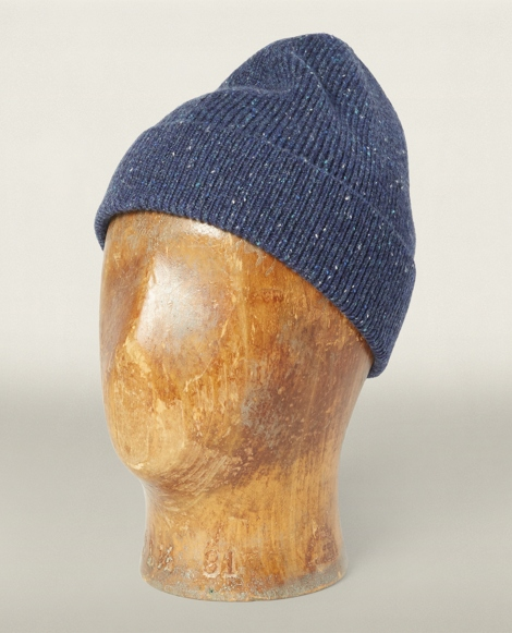 Ribbed Cashmere Watch Cap