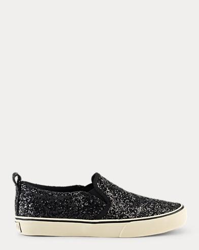 Carlee Glitter Slip-On Sneaker