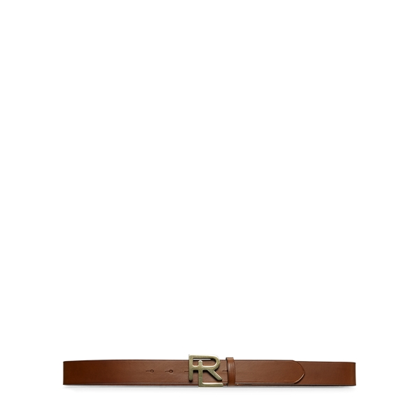 Ralph Lauren Rl Vachetta Leather Belt Tan Xs