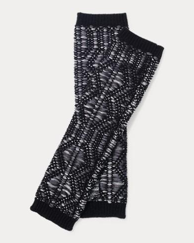 Fingerless Metallic Gloves