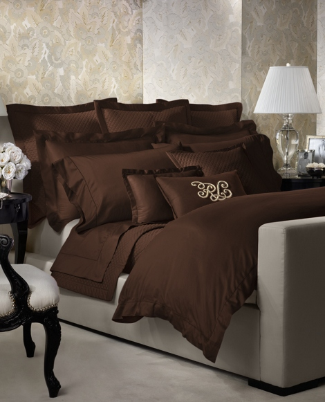 RL 624 Brown Duvet Cover