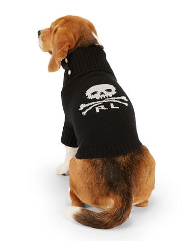 Skull & Crossbones Dog Sweater