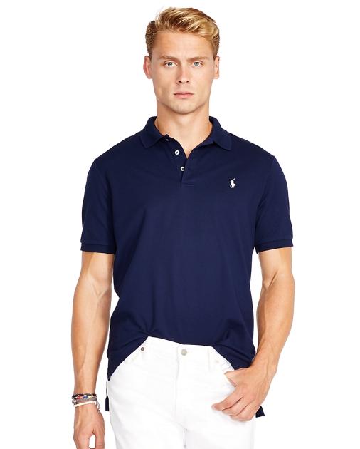 produt-image-0.0. produt-image-1.0. produt-image-2.0. Men Clothing Polo  Shirts Custom Fit Stretch Mesh Polo. Polo Ralph Lauren
