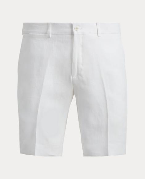 Straight Fit Linen Short