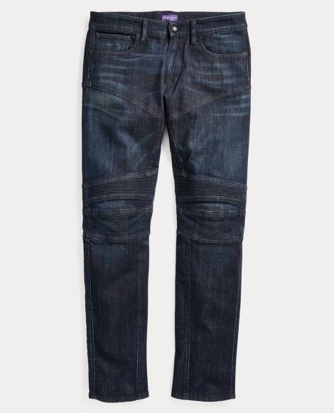 Slim Fit Moto Jean