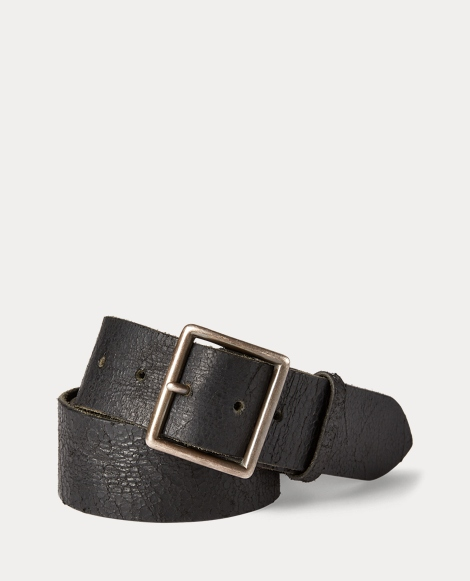 Jones Distressed Leather Belt