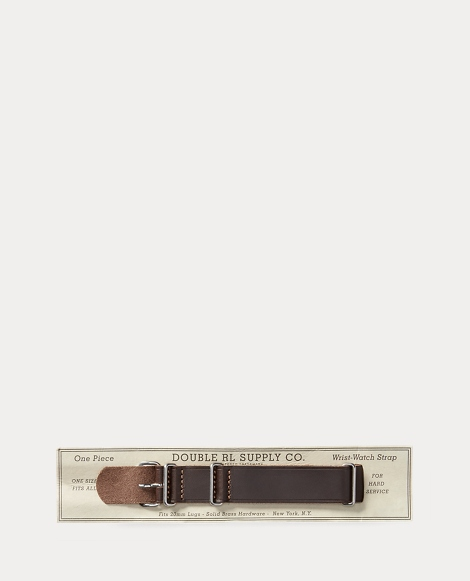 Horsehide Leather Watch Strap