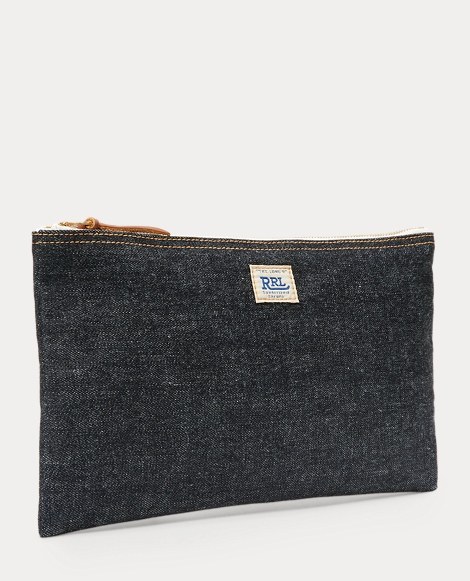 Medium Selvedge Denim Pouch