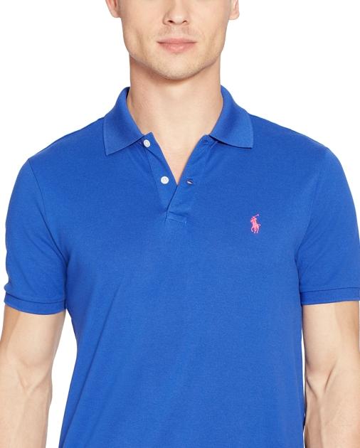 produt-image-2.0. produt-image-3.0. Men Clothing Polo Shirts Custom Fit  Stretch Mesh Polo