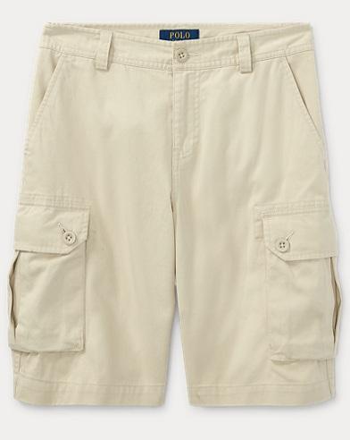 Cotton Twill Cargo Short