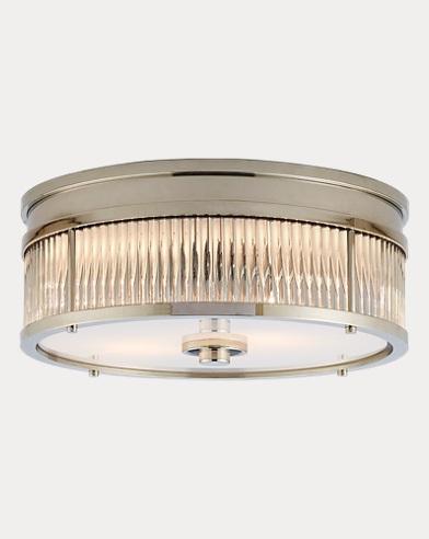 Allen Round Flush-Mount Light