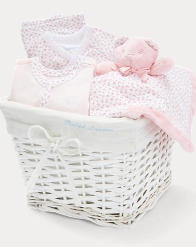 Floral 4-Piece Gift Basket