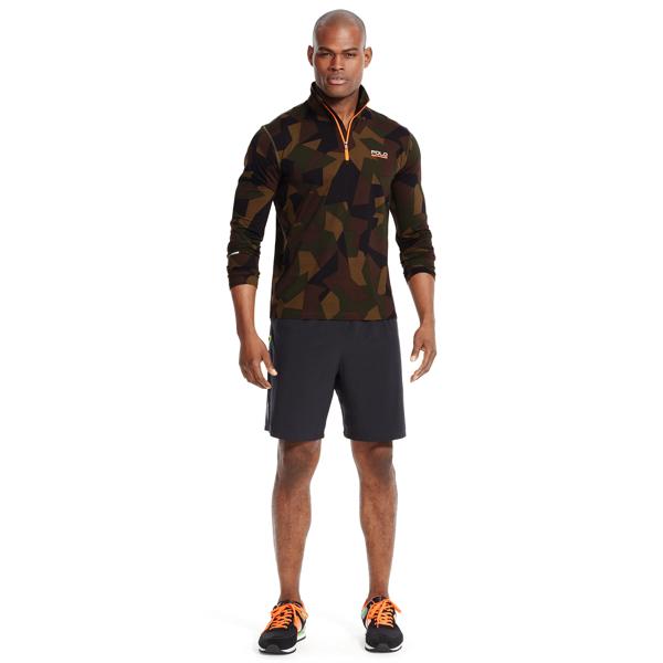 Ralph Lauren Camo Stretch Jersey Pullover Olive Camo M