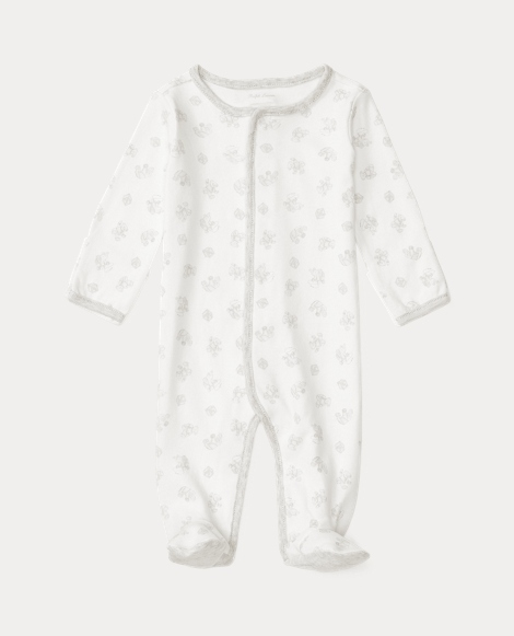 Print Cotton Jersey Coverall