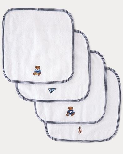Cotton Terry Washcloth Set