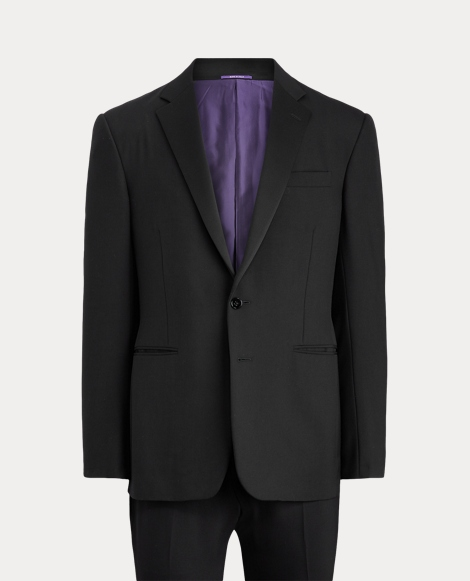 Wool Notch-Lapel Tuxedo