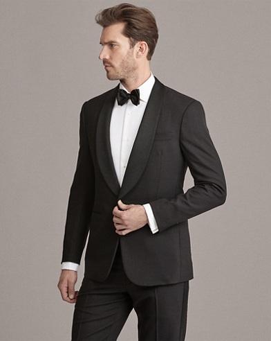 Wool Shawl-Collar Tuxedo
