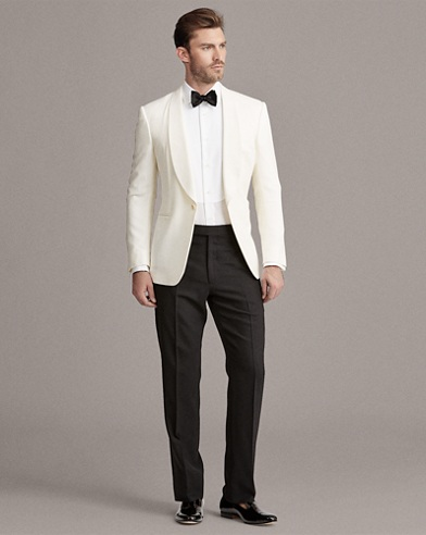 Wool Shawl Dinner Jacket