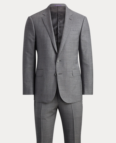 Anthony Wool Sharkskin Suit