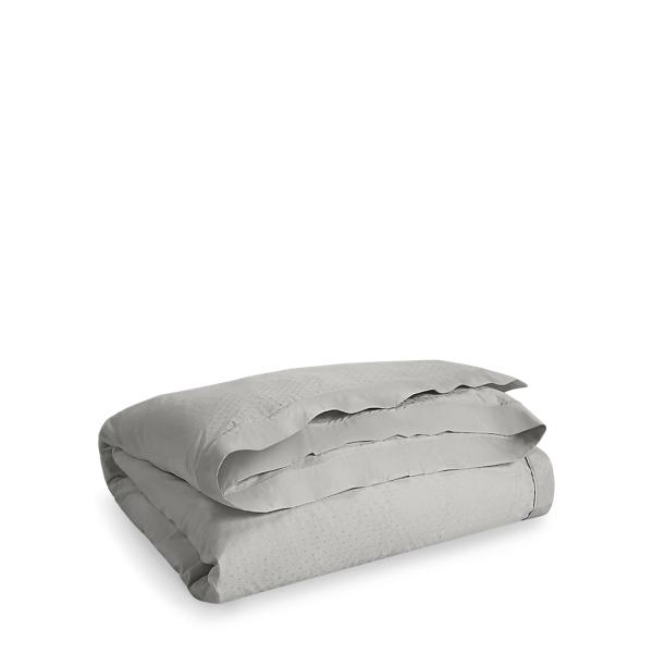 Ralph Lauren Bedford Jacquard Duvet Cover Grey Dawn Full / Queen