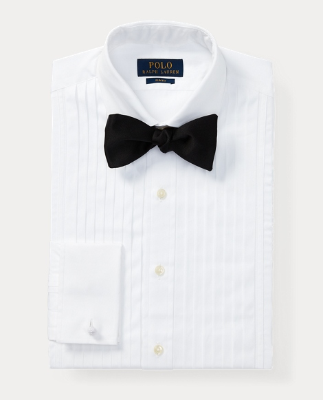 Slim Fit Cotton Tuxedo Shirt