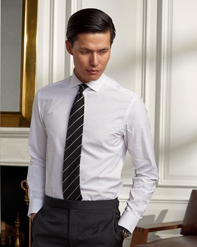 Tailored Fit Poplin Shirt