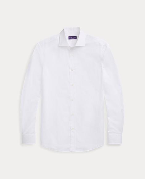 Tailored Cotton Dress Shirt