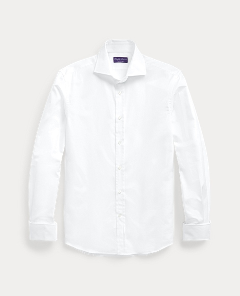 Tailored Cotton Dress Shirt