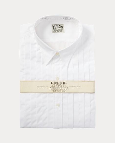 Eli Pleated Tuxedo Shirt