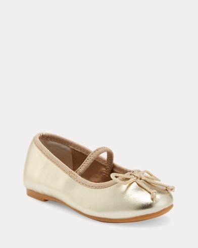 Nellie Metallic Ballet Flat