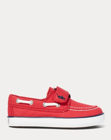 Sander Canvas EZ Boat Shoe