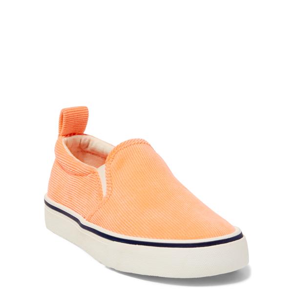 Ralph Lauren Carlee Corduroy Sneaker Neon Melon Corduroy 13
