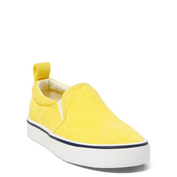 Ralph Lauren Carlee Corduroy Sneaker Neon Yellow Corduroy 3