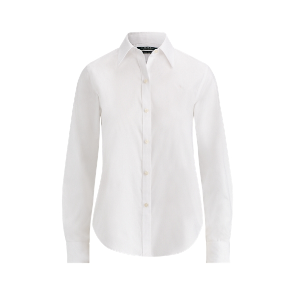 Ralph Lauren Cotton Poplin Shirt White L