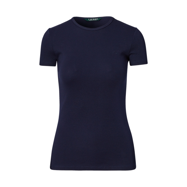 Ralph Lauren Cotton Short-Sleeve Tee Marina Navy M