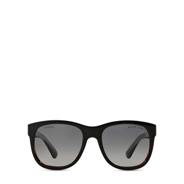 Ralph Lauren Ricky Rl Sunglasses Top Black On Jerry Havana One Size