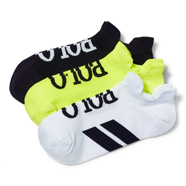 Ralph Lauren Sport Sock 3-Pack Black One Size