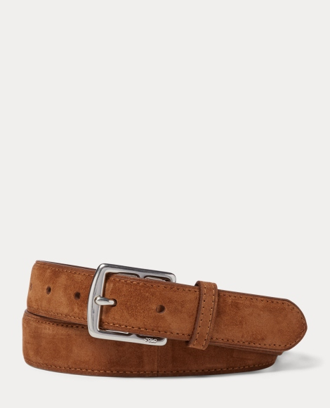 Equestrian-Harness Suede Belt