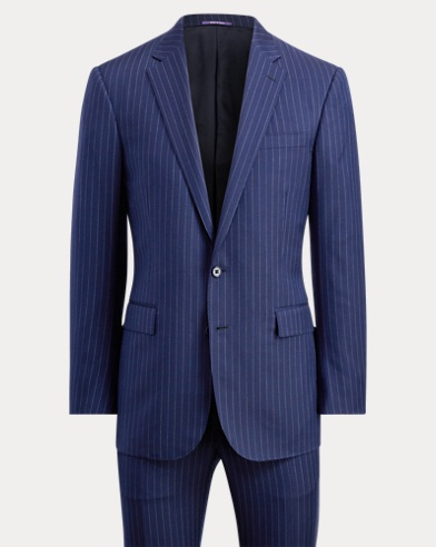 Anthony Pinstriped Wool Suit