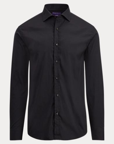 Stretch Cotton Dress Shirt
