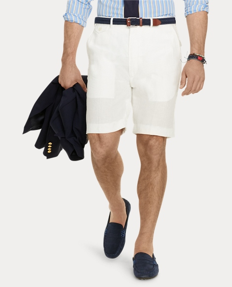Classic Fit Linen Short